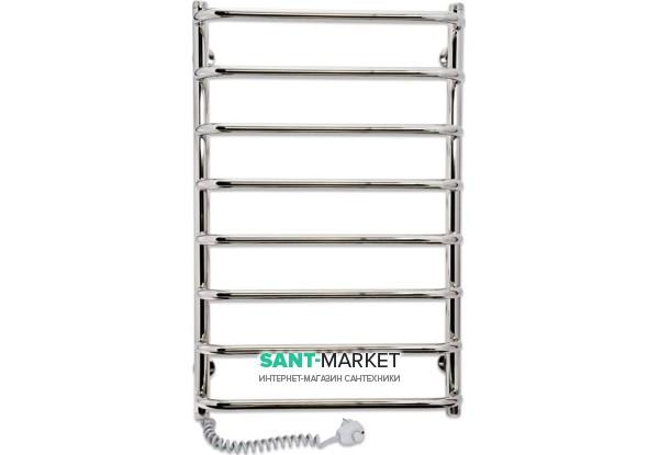 Электрический полотенцесушитель Laris Стандарт П8 Э 500x800 мм левый 73207088