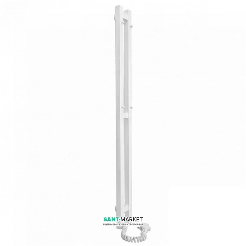 Электрический полотенцесушитель Laris Зебра Дуэт ЧК3 Э 80x1200 мм левый 75201067