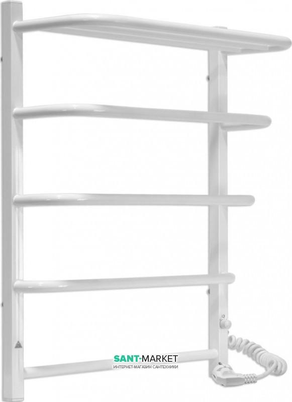 Электрический полотенцесушитель Laris Зебра Стандарт ЧК5 Э 500x660 мм правый 75201040