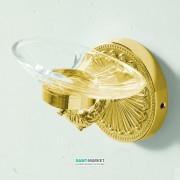 Мыльница для ванной Artceram Versailles настенная с держателем золото HEA018 73