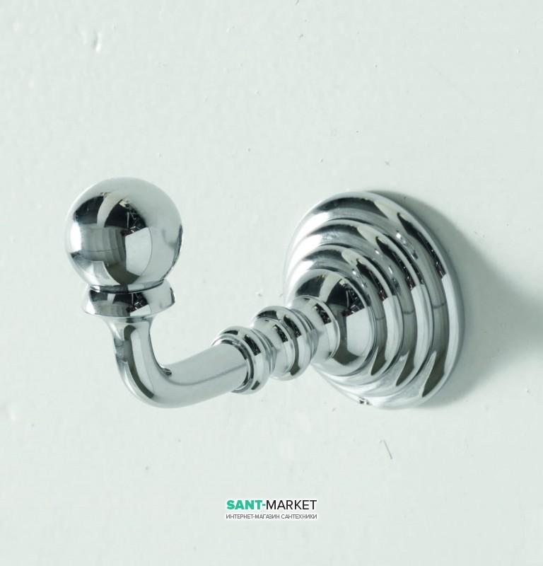 Крючок для ванной ArtCeram Victoria одинарный латунь хром HEA032 71