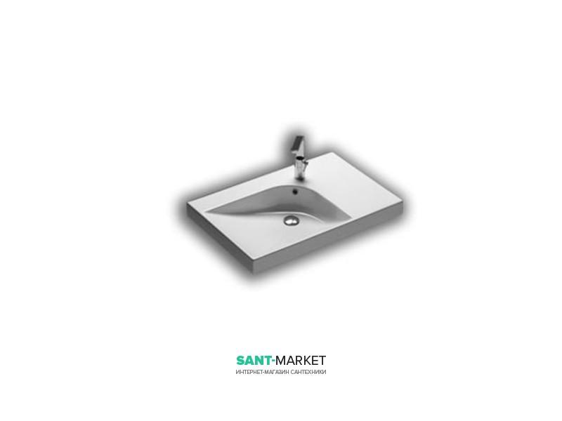 Раковина для ванной левая Hatria GRANDANGOLO 75х50 см YXF901