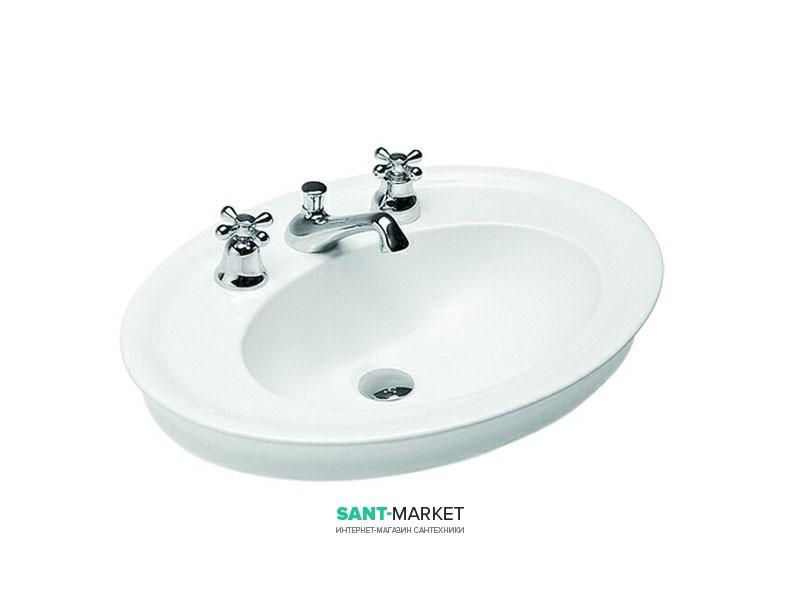 Раковина для ванной накладная Hatria DOLCEVITA 650x480 Y0PL01