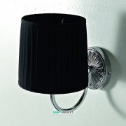 Светильник для ванной ArtCeram Versailles настенный чёрный/хром HEA039 71