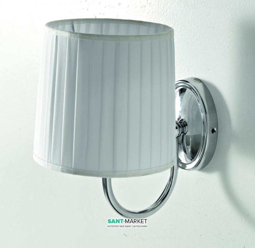Светильник для ванной ArtCeram Victoria настенный белый/хром HEA035 71