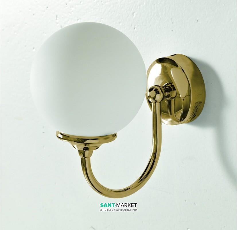 Светильник для ванной ArtCeram Victoria настенный белый белый/бронза HEA036 72