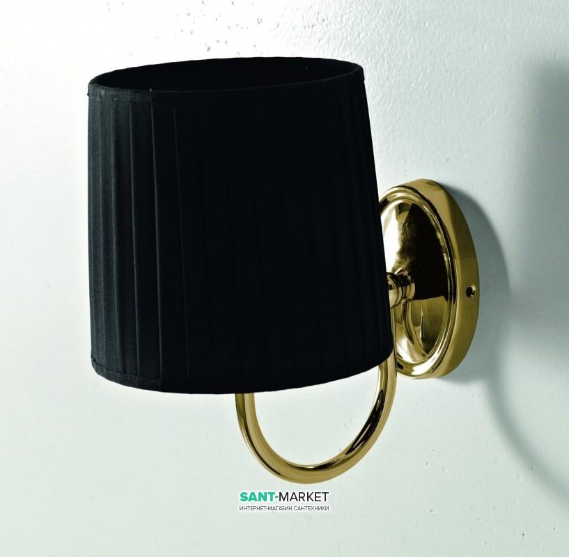 Светильник для ванной ArtCeram Victoria настенный чёрный/бронза HEA038 72