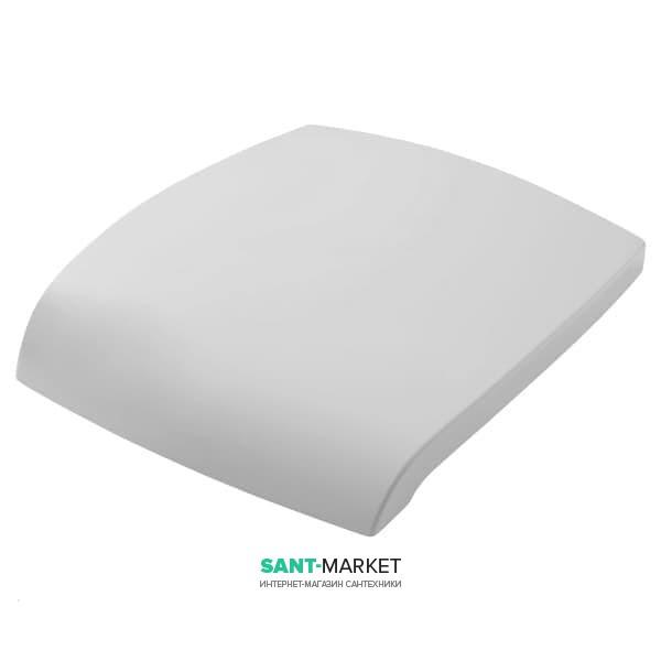 Сиденье с крышкой для унитаза ArtCeram Hi-Line белый глянцевый/хром HIA001 01;71