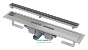 Водосточный желоб AlcaPlast APZ7 550 мм с решеткой Floor под плитку APZ7-550