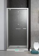 Душевая дверь Radaway Twist DW 80 профиль хром коричневое стекло 382001-08