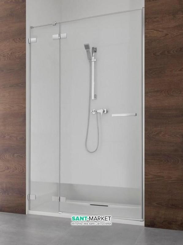 Душевая дверь Radaway Euphoria DWJ 80 левая хром прозрачное стекло 383012-01L