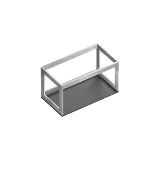 Консоль для раковины Catalano Verso 42х33 см алюминий 5S453500