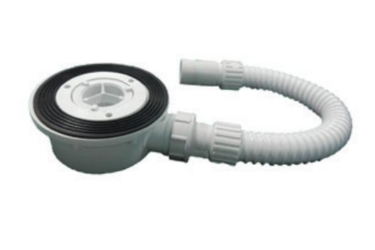 Сифон для душевого поддона Hatria Dedicato 90 мм пластик Y1XJ