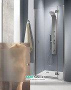 Душевая дверь Radaway Essenza DWJ 90 правая хром/стекло интимато 32702-01-12NR