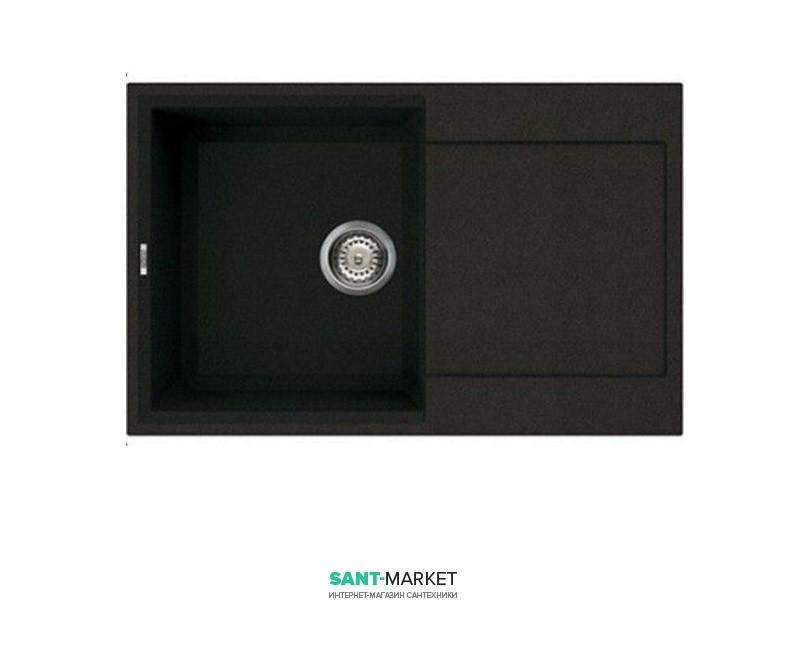 Мойка для кухни Adamant Horizon 790х500 мм искусственный гранит черный 4824296101503