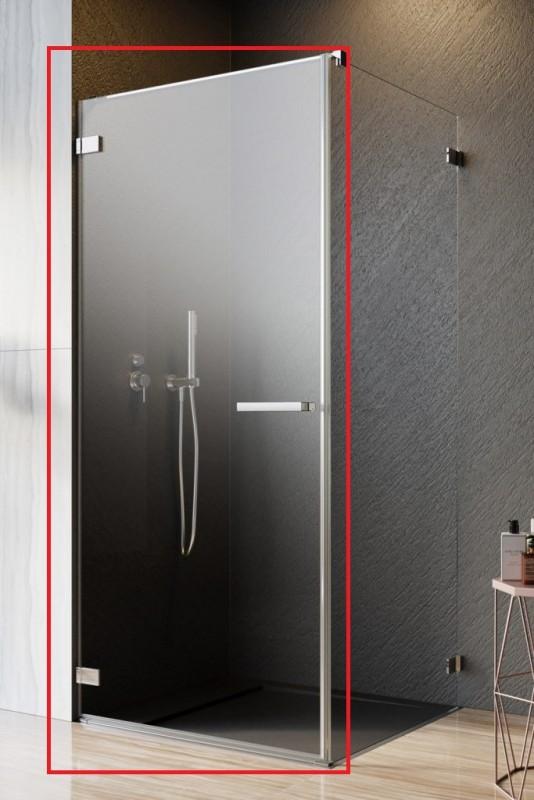 Душевые двери Radaway Arta QL KDJ I 50-100 левосторонние хром/прозрачное стекло 10102501-03-01L