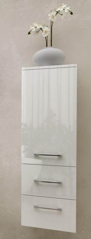 Пенал для ванной Marsan Regine 1200х350х350 см МДФ белый глянец REGINE120Х35белый