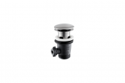 Донный клапан для раковины Vema Tiber steel нержавеющая сталь P000618