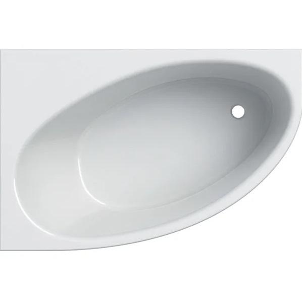 Ванна акриловая Geberit Selnova 150x100 выпуск справа с ножками белый 554.272.01.1