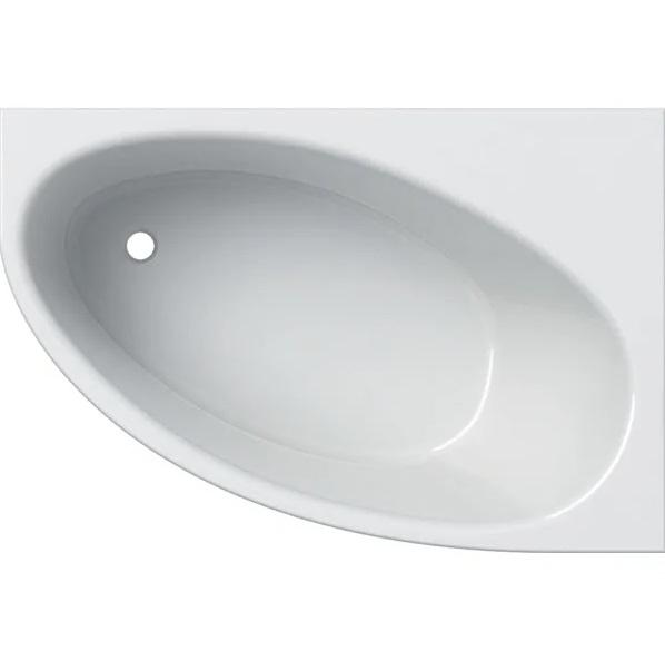Ванна акриловая Geberit Selnova 150x100 выпуск слева с ножками белый 554.273.01.1