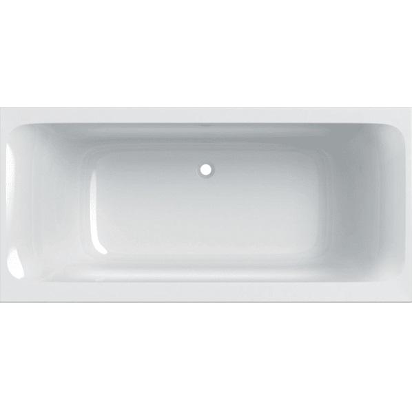 Ванна акриловая Geberit Tawa Slim rim Duo 180х80 с ножками белый 554.124.01.1