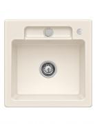 Мойка для кухни Villeroy & Boch Siluet 50 S Flat 49х49 см керамика crema 33452FKR