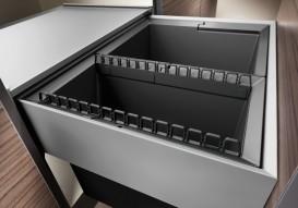 Держатель для мусорных пакетов Blanco Select Clip пластик 521300