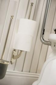 Держатель для запасного рулона туалетной бумаги Haceka Vintage серебро 1170900