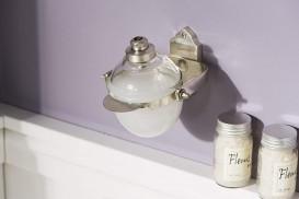 Диспенсер для жидкого мыла Haceka Vintage опрокидывающийся серебро 1170897