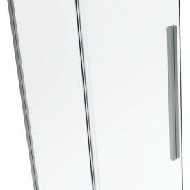 Душевая кабина Eger A Lany 120х80 без поддона профиль алюминий хром прозрачное стекло 599-550/1