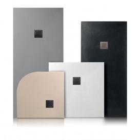 Душевой поддон мраморный Kerasan H2.5 100х90 см кремовый 705765