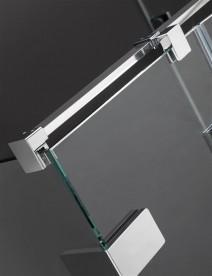 Душевые двери Radaway Arta QL KDJ I 50-100 правосторонние хром/прозрачное стекло 10102501-03-01R