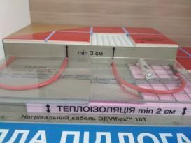 Двухжильный нагревательный кабель Devi DEVIflex 18T 16 м.кв 140F1251