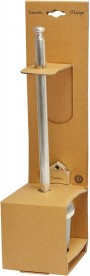 Ершик для унитаза Haceka Vintage подвесной матовое стекло/серебро 1170899