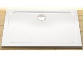 Фронтальная панель для поддона Eger 100х80 белая PAN-1080S