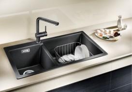 Корзина для посуды прямоугольная BLANCO нержавеющая сталь 231696