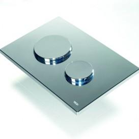Лицевая панель TECE TECEloop modular без кнопок стекло зеркальный 9240683