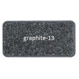 Мойка для кухни Adamant Slim 620х435 мм искусственный гранит графит 4824296101413