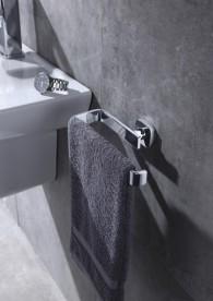 Настенный держатель для полотенец Volle Teo хром 15-88-340