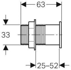 Панель смыва для унитаза Geberit IR однинарный смыв кнопка ИК  хром глянцевый 115.857.21.1