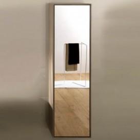 Пенал подвесной Hatria SLIDING wood system 260x400x1400 орех/зеркальный YXPW92
