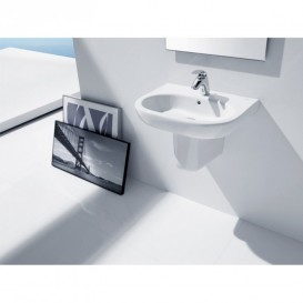 Полупьедестал для раковины Roca Meridian керамика белый A337242000