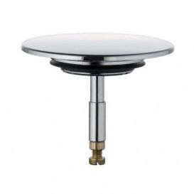Пробка для гарнитура Kludi Rotexa без сеточки нержавеющая сталь хром 7050405-00