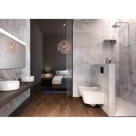 Раковина-чаша для ванной Roca Inspira Round 50х37 см с керамической декоративной крышкой донного клапана A327520000
