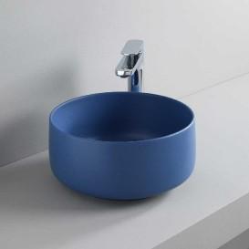 Раковина для ванной ArtCeram Cognac Ø35 см санфарфор синий COL004 16;00
