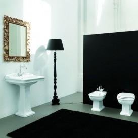 Раковина для ванной ArtCeram Hermitage 68х55 см белый глянцевый HEL002 01;00