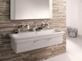 Раковина для ванной на тумбу Kolo Life 100 с покрытием Reflex белая M21110900