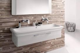 Раковина для ванной на тумбу Kolo Life 130 с покрытием Reflex белая M21030900