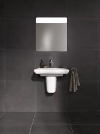 Раковина для ванной на тумбу Kolo Life 60 с покрытием Reflex белая M21160900