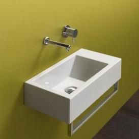 Раковина для ванной накладная Catalano New Zero 40х23 керамическая цвет белый матовый 14023VEBM